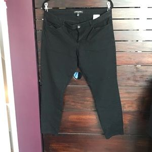 Banana Republic Sloan Ankle Pants Black 12
